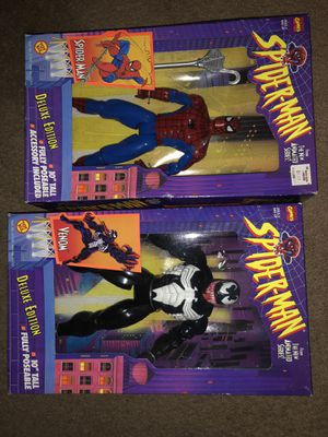 Toy Biz Spider-Man 12inch Figures for Sale in Columbus, OH