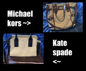 Michael Kors & Kate Spade Purse for Sale in Kent, WA