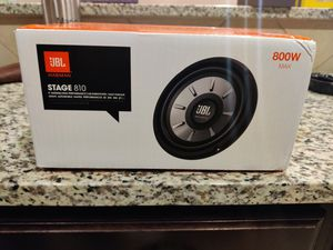 """JBL stage 810 8"""" subwoofer for Sale in San Antonio, TX"""