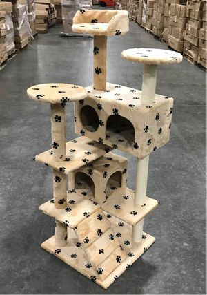New in box 52 inches tall cat tree scratching post scratcher for Sale in Pico Rivera, CA