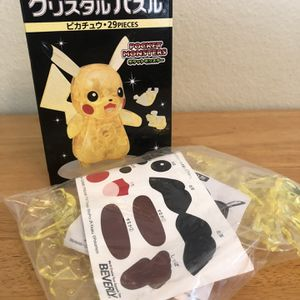 Pikachu Crystal 3D puzzle- never opened for Sale in Poway, CA