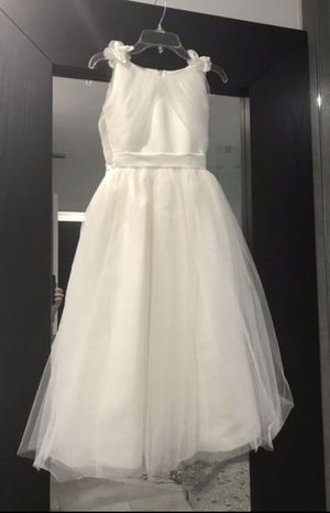 Joan Calabrese flower girl dress Color ivory for Sale in Miami Lakes, FL