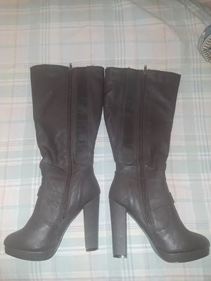Long leather boot heels for Sale in Las Vegas, NV