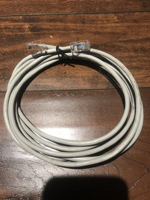 8ft Internet cable RJ45 CAT5 CAT6 Ethernet Network Lan Router Modem Patch Cable Cord Xbox Playstation TV for Sale in Los Angeles, CA