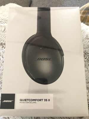 BOSE QuietConfort 35 II Noise Cancelling Bluetooth Headphones for Sale in Plano, TX