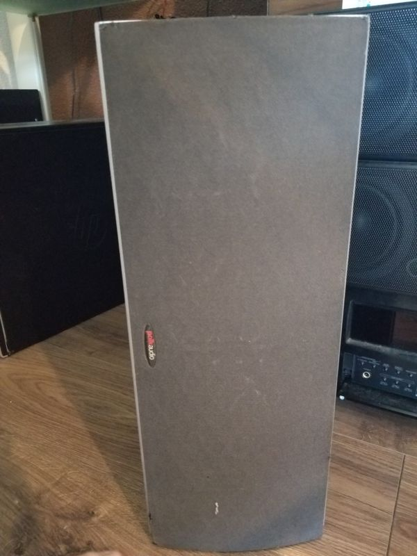 Polkaudio center speaker