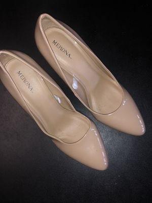 Beige pointy heels for Sale in Jacksonville, FL