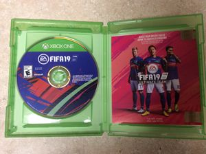 NEW OPEN BOX GAME FIFA19 - XBOX for Sale in Germantown, MD