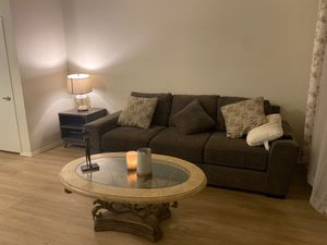 Two sofas and coffee table for Sale in Glendale, CA