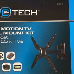 Ce Tech Full Motion Tv Wall Mount 26-55 Inch Tvs for Sale in Weston, FL