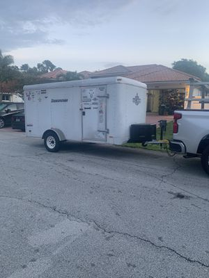 Enclosed trailer 12/6 for Sale in Fort Lauderdale, FL
