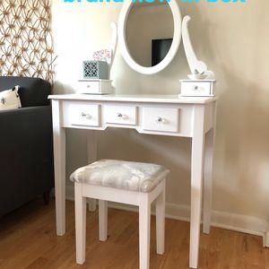 Vanity Table Stool Set Seattle for Sale in Seattle, WA