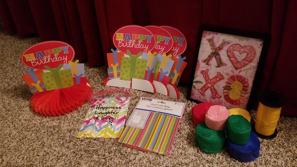 Girl Birthday decorations