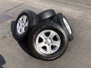 Wheels and tires 17inch for Sale in Philadelphia, PA