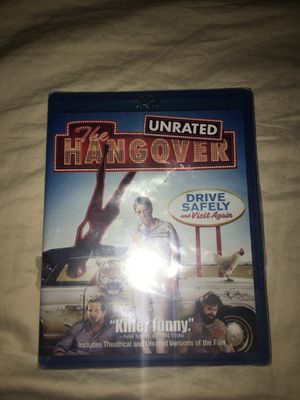 Unrated hangover movie for Sale in Chicago, IL