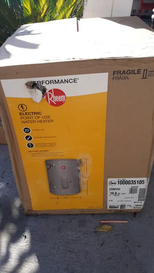 Rheem tankless water heater for Sale in Glendora, CA