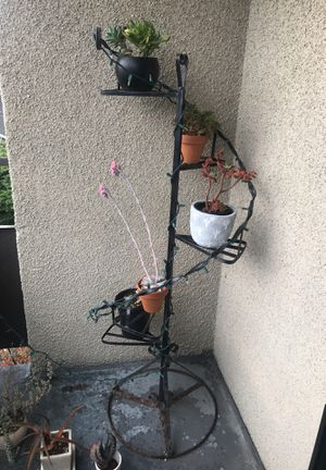 Spiral plant staircase stand for Sale in Seattle, WA