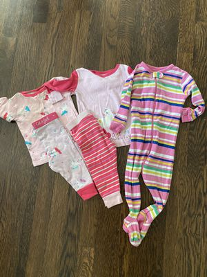 Bundle of 3 pajamas 12 months for Sale in Carbondale, IL