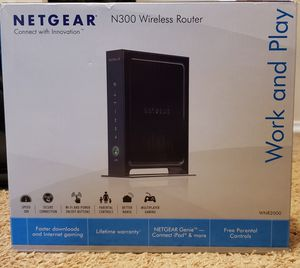 Net Gear WiFi router and WiFi modem/wifi router for Sale in Dallas, TX