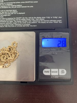 14k Gold rope chain for Sale in Joliet, IL