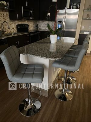 New 4 gray bar stools for Sale in Orlando, FL
