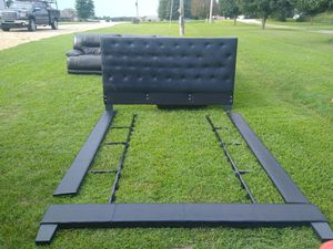 Cali king bed frame for Sale in Fayetteville, AR