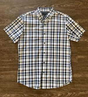 Brand New Banana Republic Plaid Shirt Sleeved Buttoned Down Shirt Size Medium for Sale in San Gabriel, CA