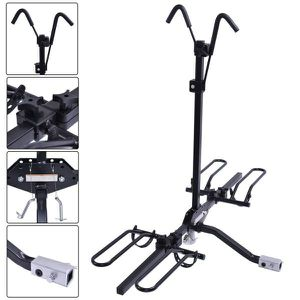 "Brand new in box 2 Bike Bicycle Carrier Foldable Adjustable Platform Car SUV Truck Van 2"" Hitch Rack Fits 20 to 26 inch Tires for Sale in Whittier, CA"