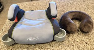 Kids car booster seat & neck pillow for Sale in Scottsdale, AZ