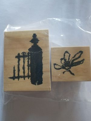Garden theme rubber stamp set for Sale in Chicago, IL