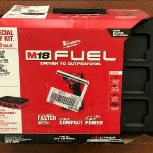 Milwaukee M18 Impact Driver Battery Charger Packout Tool Set for Sale in San Jose, CA