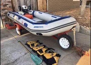 Sea Eagle Dive Boat - Zodiac - 12.65R With trailer - Inflatable Dive Boat for Sale in Modesto, CA