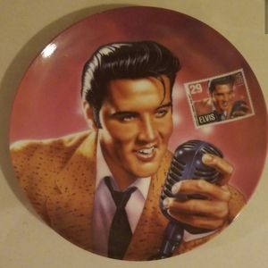 "Elvis ""The Rock &Roll Legend "" plate for Sale in Murfreesboro, TN"