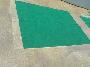 EVENT SPACE CLOSING!!! GREEN SYNTHETIC/TURF RUGS for Sale in College Park, GA