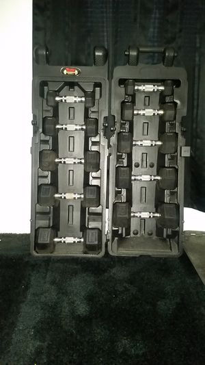 Dumbbells Rubber Hex for Sale in Pikesville, MD