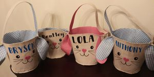 Bunny Easter Baskets for Sale in Romeoville, IL