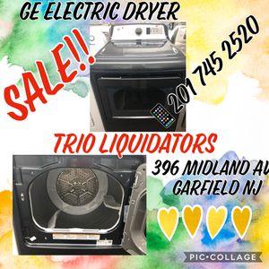 Ge electric Dryer SALE !! for Sale in Elmwood Park, NJ
