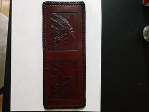 Horse ..leather wallet...handmade ...new for Sale in Gastonia, NC