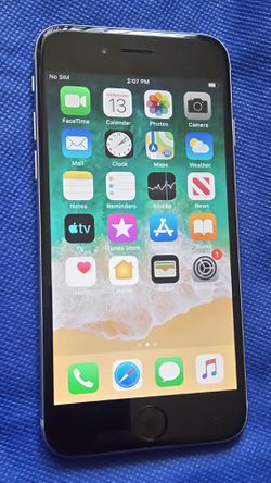 APPLE IPHONE 6 16GB WORKING GREAT FOR AT&T CRICKET H2O REDPOCKET OR ANY AT&T NETWORKs CLEAN ICLOUD for Sale in Los Angeles,  CA