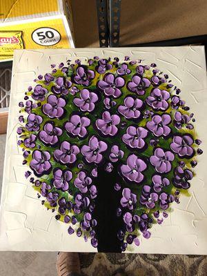 Purple flowers wall art for Sale in Federal Way, WA