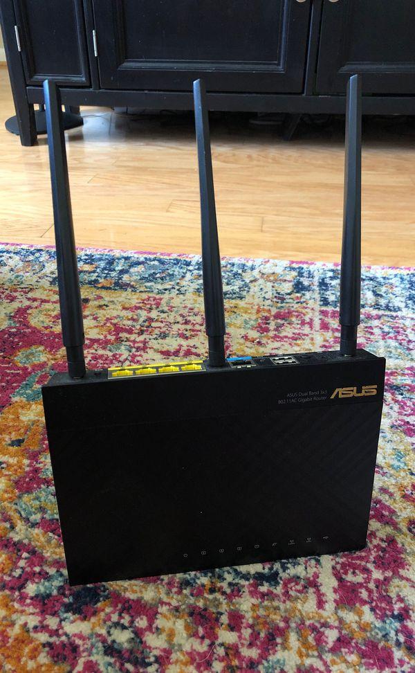 Asus RT-AC66R AC Gigabit Router - $30