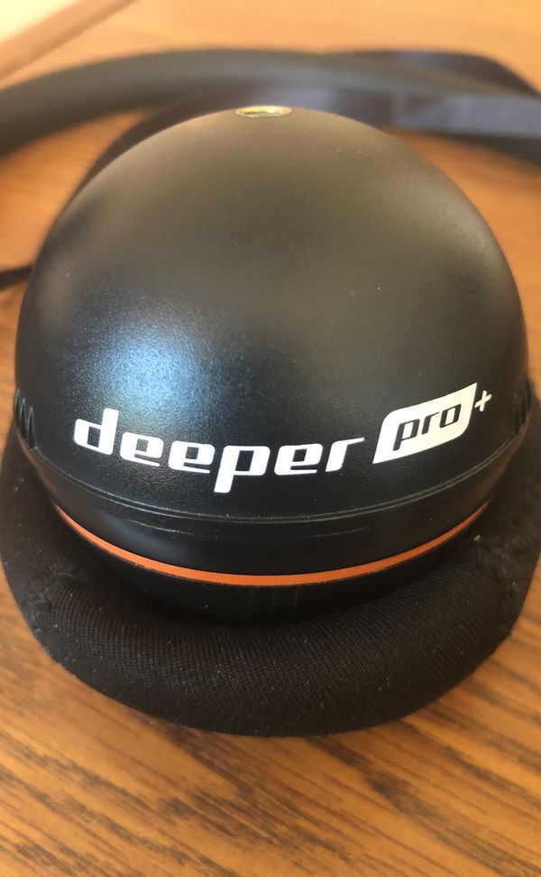Deeper Pro+ portable and castable fish finder