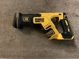 Dewalt 20v max xr brushless compact reciprocating saw tool only for Sale in Everett, WA