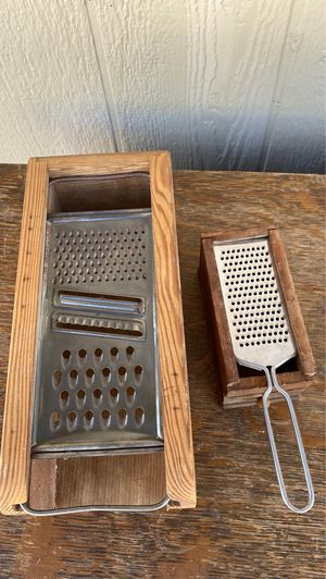 Set of 2 vintage box graters for Sale in Martinez, CA