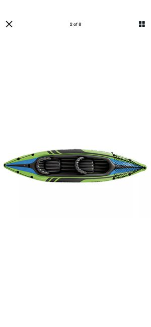 Intex Challenger K2 Kayak, 2-Person Inflatable Kayak Set with Oars and Pump for Sale in La Palma, CA