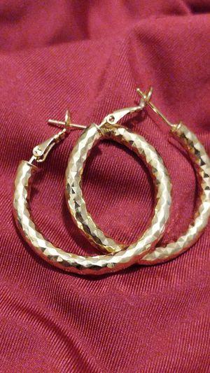 Hoop earrings for Sale in San Bernardino, CA
