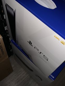 Ps5 PlayStation 5 Disc Blue Ray Version $750 for Sale in Arlington,  VA