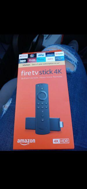 Fire tv stick 4k jail broken for Sale in South Houston, TX