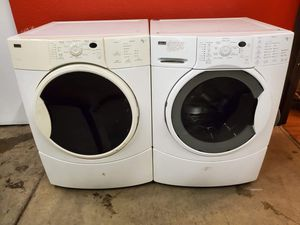 Kenmore washer and electric dryer set good working condition set for $399 for Sale in Arvada, CO