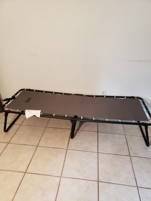 Twin size Coleman camper easy setup bed for Sale in Orlando, FL